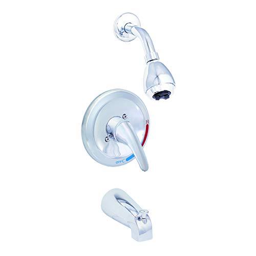 EZ-FLO 10066 Pressure Balanced Tub and Shower Set Ceramic Disc