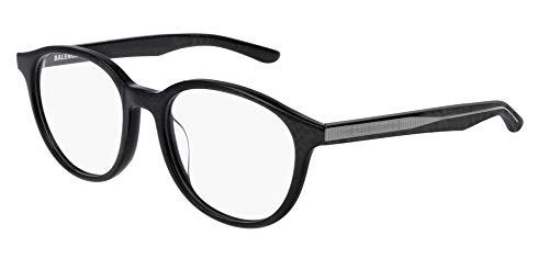 Balenciaga BB0042OA Eyeglasses 003 Grey-Grey 51mm