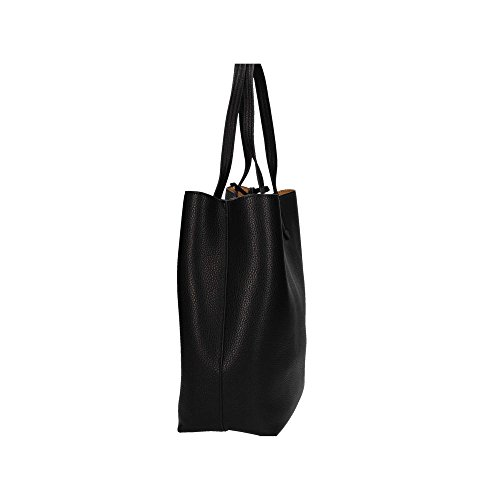 Patrizia Pepe Borsa Shopper Borsa tote 30 cm Black Clear Beige