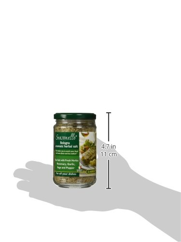 Seasonello Bologna Aromatic Herbal Salt 10.58 oz Each - 4 Jars by Seasonello (Image #5)