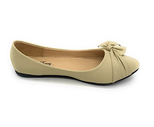 Blue Berry Easy21 Donna Casual Appartamenti Balletto Moda Scarpe Ecopelle Nude08