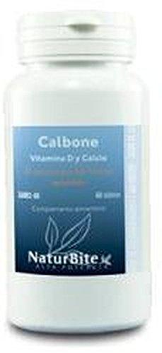 Calbone (Vitamina D y Calcio) 60 comprimidos de Naturbite: Amazon.es: Salud y cuidado personal