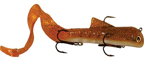 MUSKYI Bull Dawg Walleye Innovations Fishing Lures, Brown