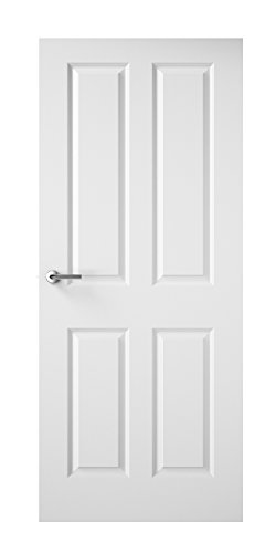 Premdor 13618 533 x 1981 x 35 mm 4-Panel Smooth Interior Door by Premdor by Premdor