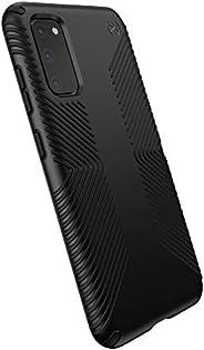 Speck Products Presidio Grip Samsung Galaxy S20 Case, Black/Black (136313-1050)