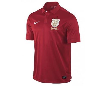 2e1f0d6e8 Amazon.com   Nike ENT SS Away Repl JSY 2013-14 England Away Jersey ...