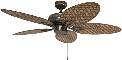 Harbor Breeze Tilghman II 52-in Bronze Indoor/Outdoor Residential Ceiling Fan