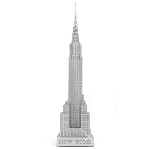 """Chrysler Building Statue """"Art Deco"""" Scaled Replica Model from New York City"""