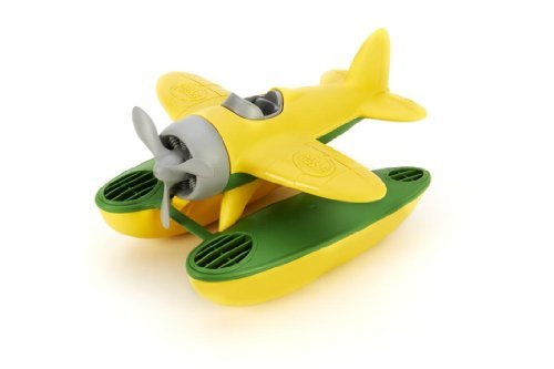 Price comparison product image Green Toys Yellow and Green Seaplane Bath Toy ideal for Children by Green Toys