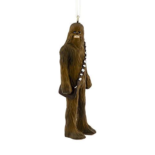 Hallmark Disney Lucasfilm Star Wars Chewbacca Christmas Ornaments -