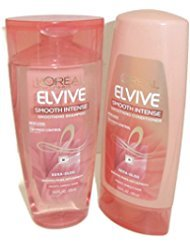 Loreal Paris Elvive Smooth Intense Smoothing Shampoo And Conditioner Set Loreal Red Shampoo