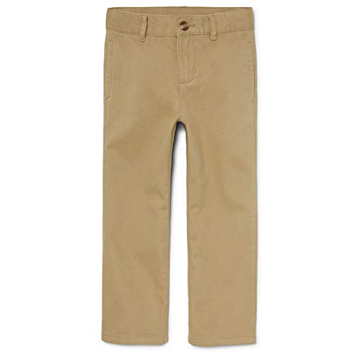 The Children's Place Boy's Uniform Chino Pants, Flax, 6