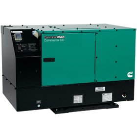 Cummins Onan 10.0 HDKCC42345 - Commerical Mobile generator set Quiet Diesel Series QD 10000