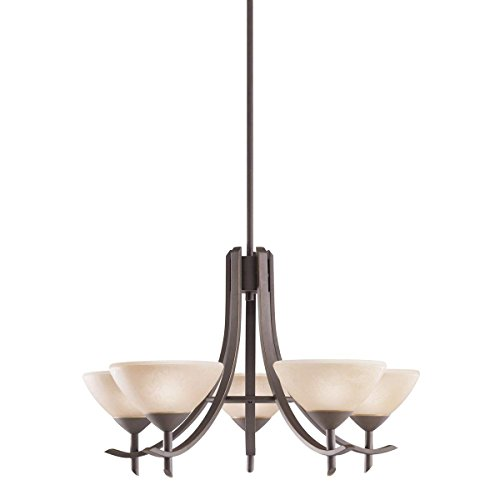 Cheap Kichler 1679OZ 5-Light Olympia Incandescent Chandelier, Old Bronze