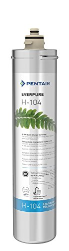 - Everpure H-104 Water Filter Replacement Cartridge (EV9612-11)