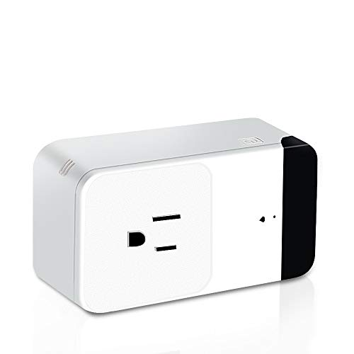 SHARKSBox WiFi Smart Plug Mini Outlet,Compatible with Alexa Echo,Google Assistant,No Hub Required,Great mothers Day Gifts,Infrared Control your Devices from Anywhere,FCC Certified