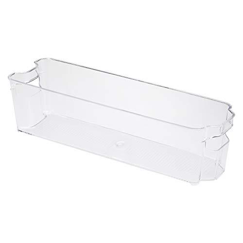 🥇 AmazonBasics – Recipiente de plástico para frigorífico