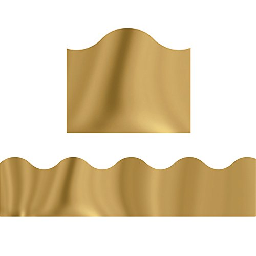 - TREND enterprises, Inc. Gold Metallic Terrific Trimmers, 32.5 ft