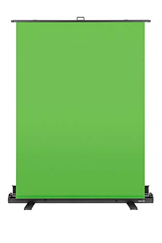 Comp Screen - Elgato Green Screen - Collapsible Chroma Key Panel for Background Removal with auto-Locking Frame, Wrinkle-Resistant Chroma-Green Fabric, Aluminum Hard case, Ultra-Quick Setup and Breakdown