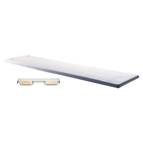 Inter-Fab DB10WW Duro-Beam 10 Ft. Durobeam Diving Board44; White With White Top (Inter Fab Duro Beam)