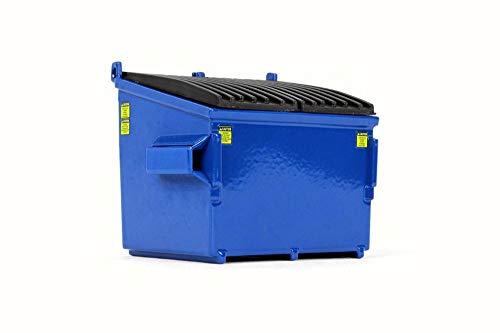 Refuse Trash Bin, Blue - First Gear 90-0534 - 1/34 Scale Diecast Model Toy Car