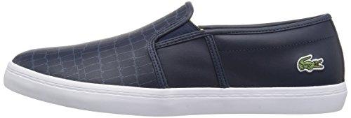 Lacoste Women's Gazon 118 2 Caw Sneaker, Nvy/Fluro Ylw, 5.5 M US
