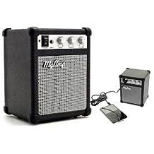 Portable Mini Speaker Guitar Amplifier Shaped Mp3 and Computer Speaker My Amp Retro Black Color
