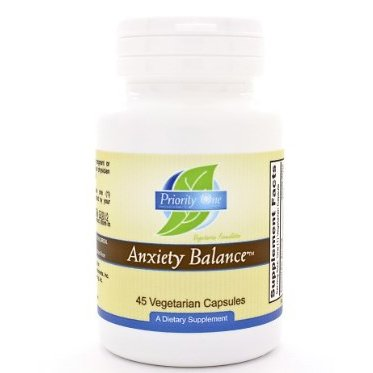Priority One Anxiety Balance -- 45 Vegetarian Capsules