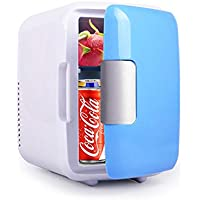 MMSD 4L Portable Mini Fridge Freezer,Electric Fridge Portable Icebox Travel Fridge,Mini Freezer Dual-Use Car/Home Hot…