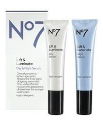Day Serum - BOOTS Boots No7 Lift & Luminate Day & Night Serum, 0.5 oz