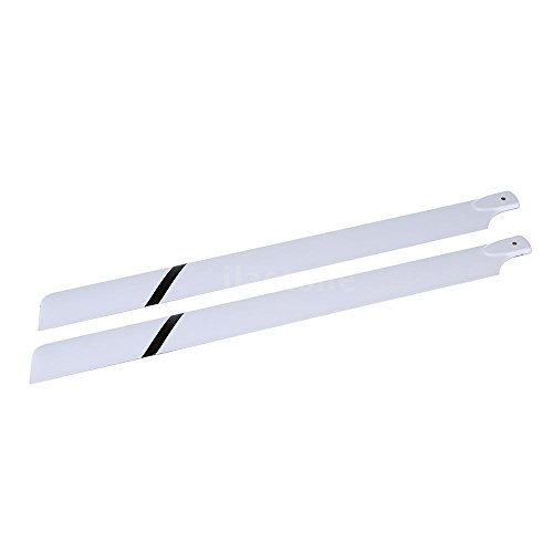 Large fiberglass paddle - SODIAL(R)Fiber Glass 600mm Main Blades for Align Trex 600 RC Helicopter UK Stock 77OD