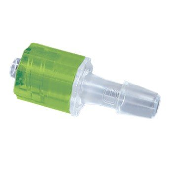 Male Luer Lock x 1//4 Hose Barb Lime CrystalVu AO-45520-36 Crystal Luer Fitting 25//Pk Pack of 25
