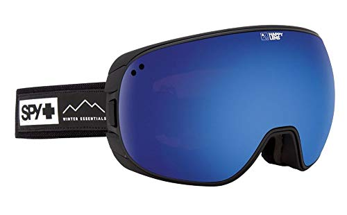 Spy Bravo Snow Goggles Essential Black with Happy Rose with Dark Blue Spectra Lens