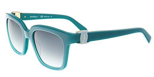 Salvatore Ferragamo SF782S 441 52mm Turquoise Grey Gradient - Marchon Sunglasses