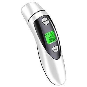 Termómetro para la temperatura de la frente y los oídos del bebé ...