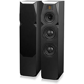 Emotiva Audio T1 Tower Speakers Black Each