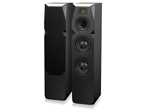 Emotiva Audio T1 Tower Speakers, Black (each)
