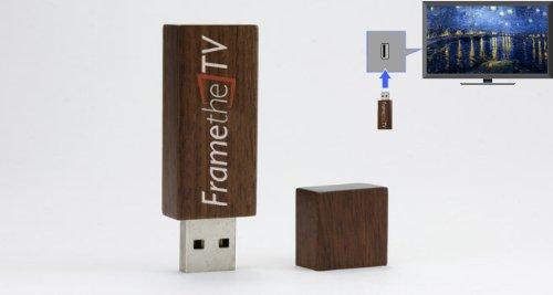 (FrameTheTV High Definition TV Art on a USB Drive - Impressionist Art by Monet, Van Gogh, Degas, Cezanne, Renoir and More (hd-USB-Impressionist))