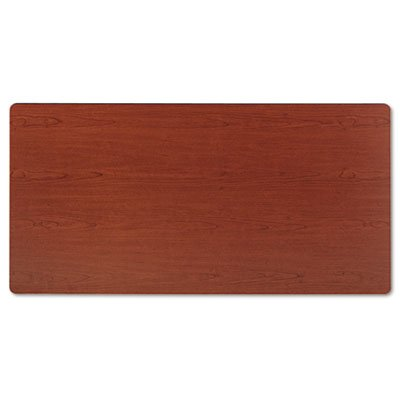 30d Bourbon Cherry (BSXBTR3060NHP Rectangular Training Table Top Without Grommets, 60w x 30d, Bourbon Cherry)