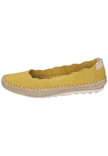 Piazza Damen Slipper Gelb