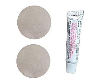 suxing - Juego de 2 Adhesivos de reparación de Parches de PVC, para reparación Inflable