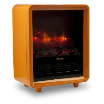 Amazon Com Crane Usa Mini Fireplace Heater Orange Home