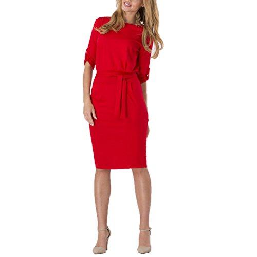 Buy belted drape dress - 9