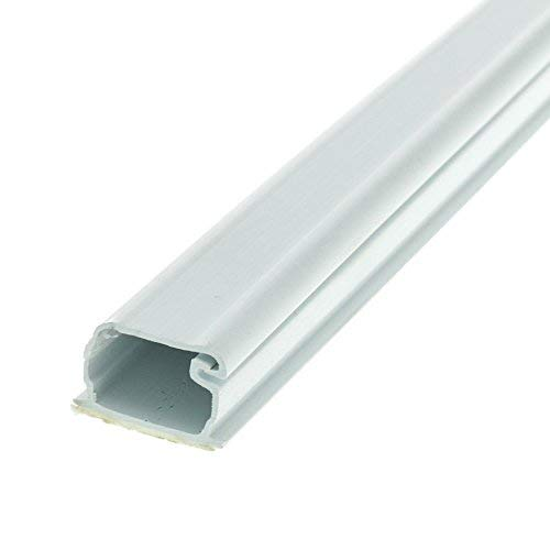 (3/4 inch Surface Mount Cable Raceway, White, Straight 6 Foot Section)