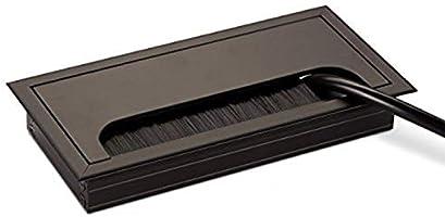 LIKERAINY Pasacables Mesa Oficina Cable Glándula 80x 160mm para ...