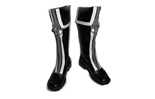 D Gray-Man Allen Walker Cosplay Costume Boots Boot Shoes Shoe (D Gray Man Allen Walker Cosplay Costume)