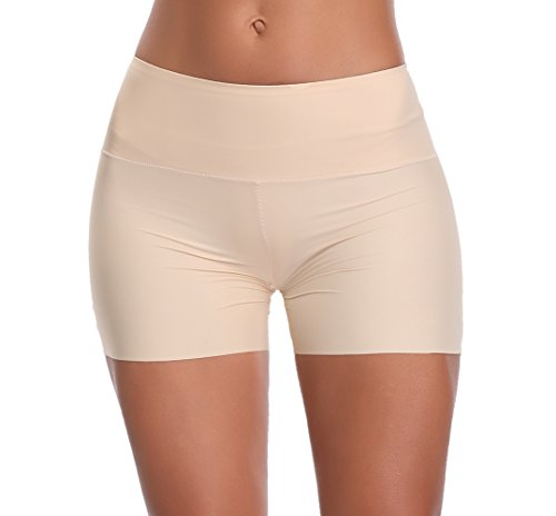 Womens Shapewear Panties Bodysuit Body Shaper Mid Waist Tummy Control Seamless Slimming - Slim Spandex Bodysuit
