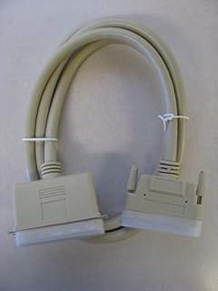 6 Ft 25-Pin DB25 Male to 68-Pin HD68 Male External SCSI Cable SCSI-HD68-DB25-06