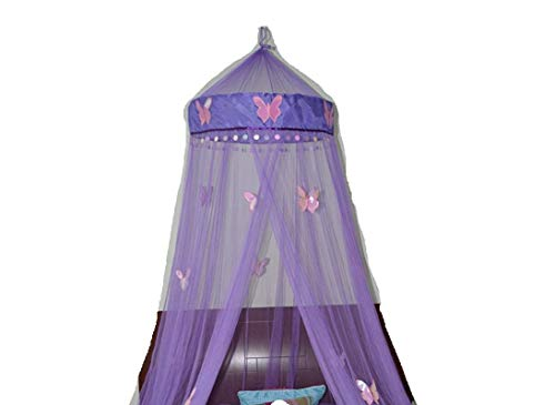 FineHome Butterfly Bed Canopy Mosquito Net Bed, Room Decoration, Party Events -