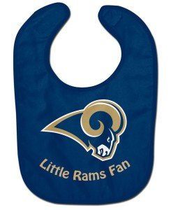 St Louis Rams Cloths - WinCraft NFL St. Louis Rams WCRA2049514 All Pro Baby Bib
